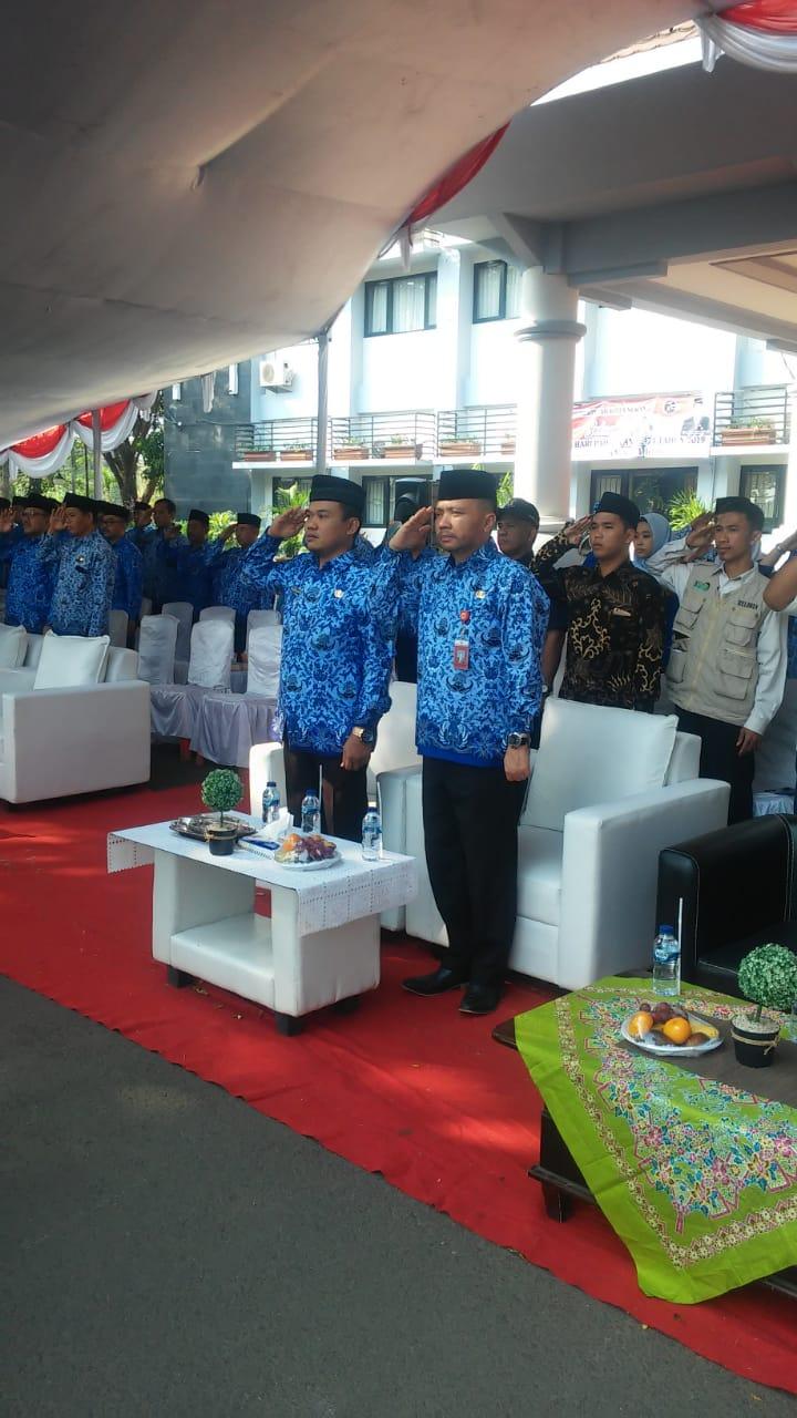 Upacara Hari Pahlawan ke 74 Di Pemerintahan Kota Serang