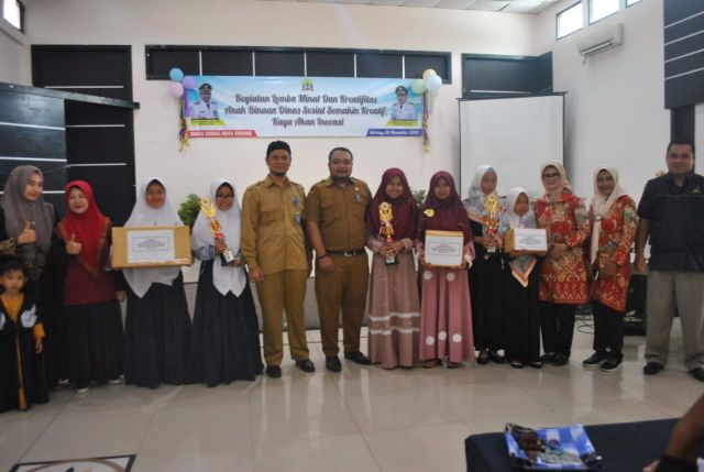 Lomba Minat dan Kreatifitas Anak Binaan Dinas Sosial Kota Serang