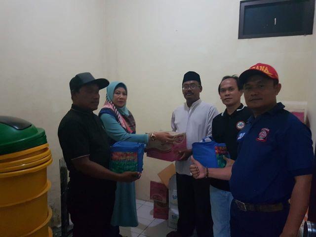 Penyerahan Bantuan Korban Banjir