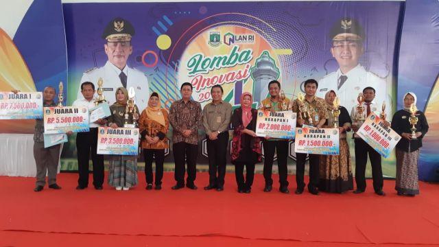 Juara 3 Lomba Inovasi Proyek Perubahan Tingkat Provinsi Banten Tahun 2019