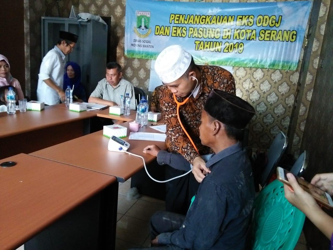 Penjangkauan Eks ODGJ dan Eks PASUNG DI Kota Serang